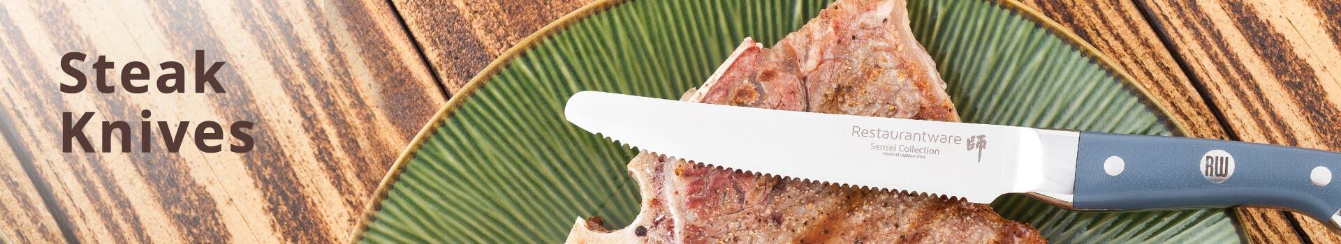 Sensei Blue Steak Knives