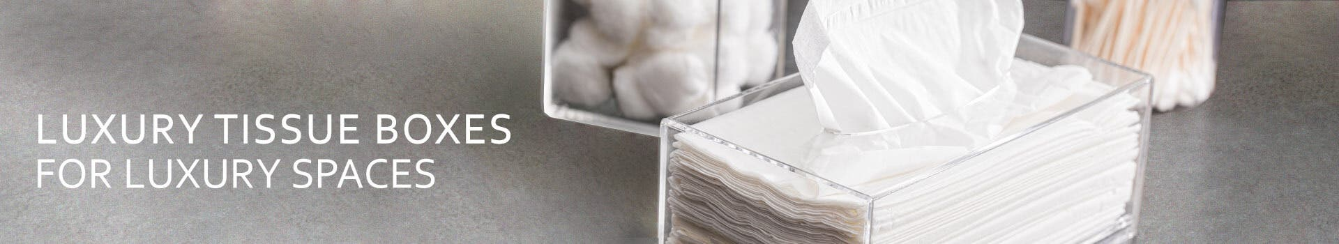 Acrylic Tissue Boxes