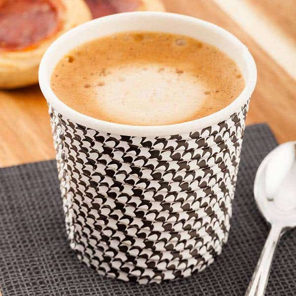 Spiral Wall Paper Coffee Cups