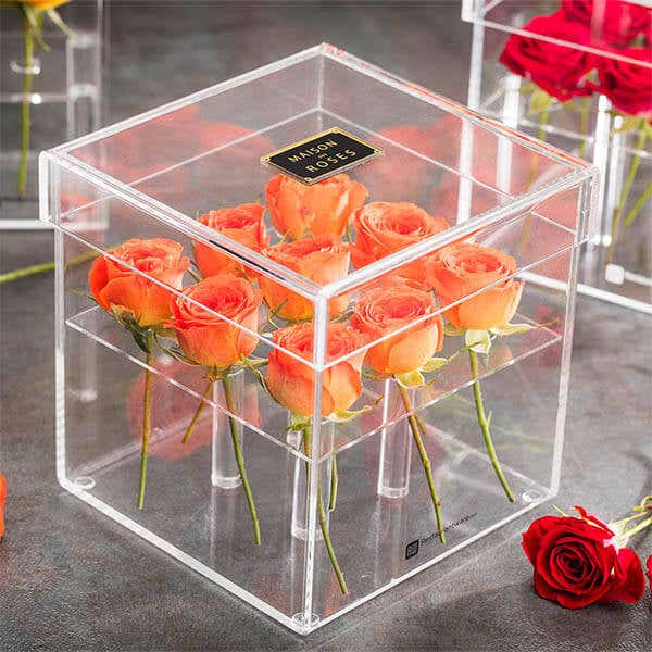 Acrylic Flower Boxes