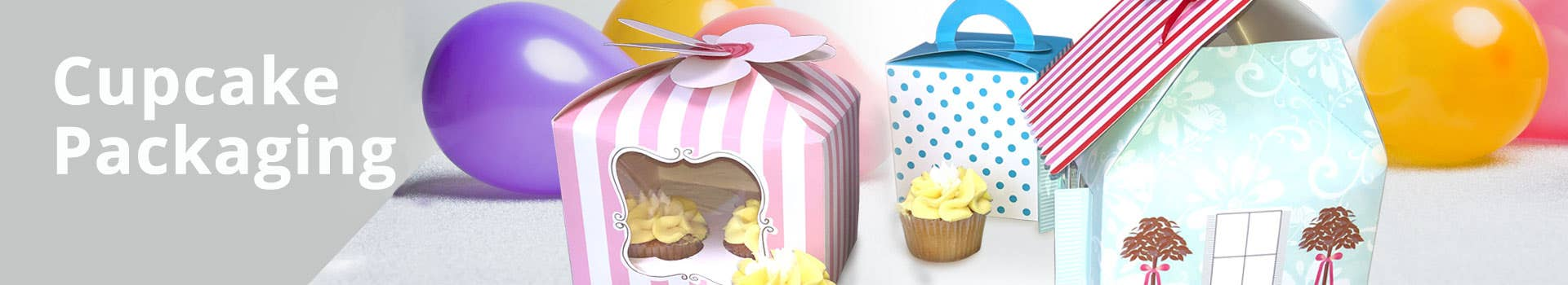 Paper Cupcake Packaging