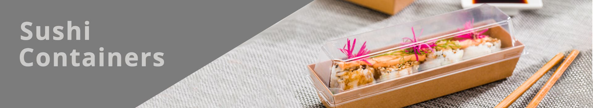 Rectangle Sushi Containers