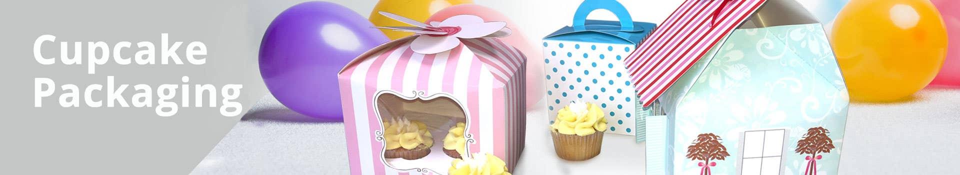 Paper Cupcake Packaging