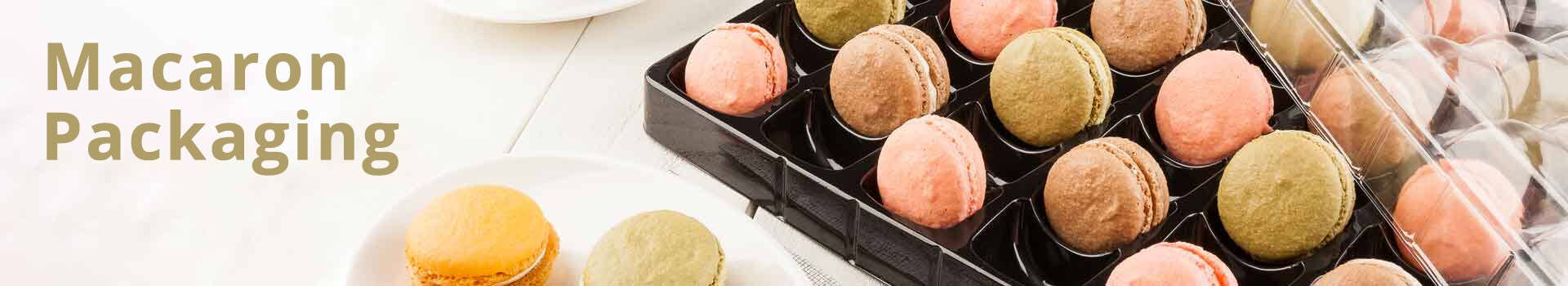 24 Macarons Macaron Packaging