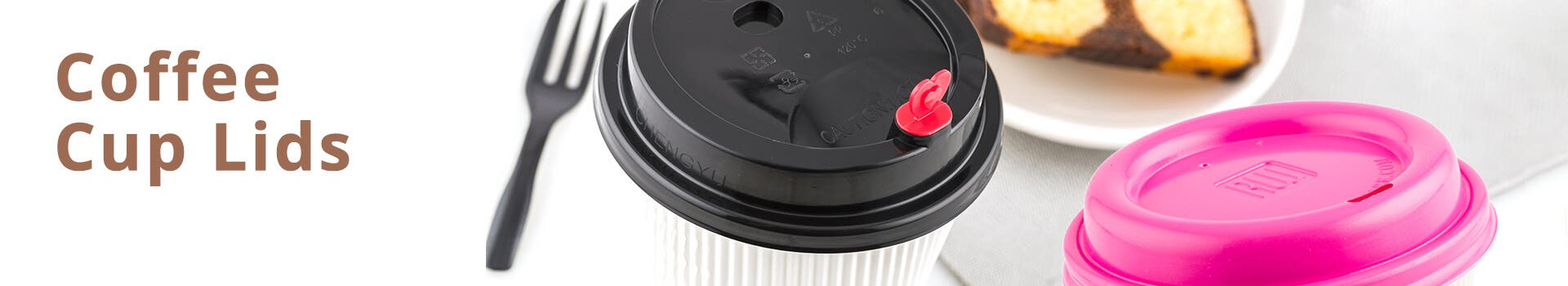 Black Coffee Cup Lids