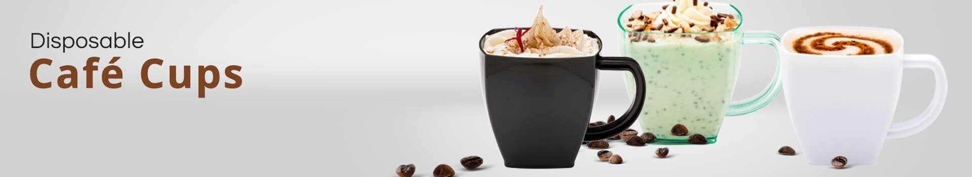 Square Cafe Cups