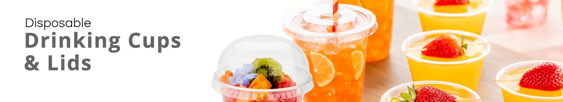 Mini Drinking Cups & Lids