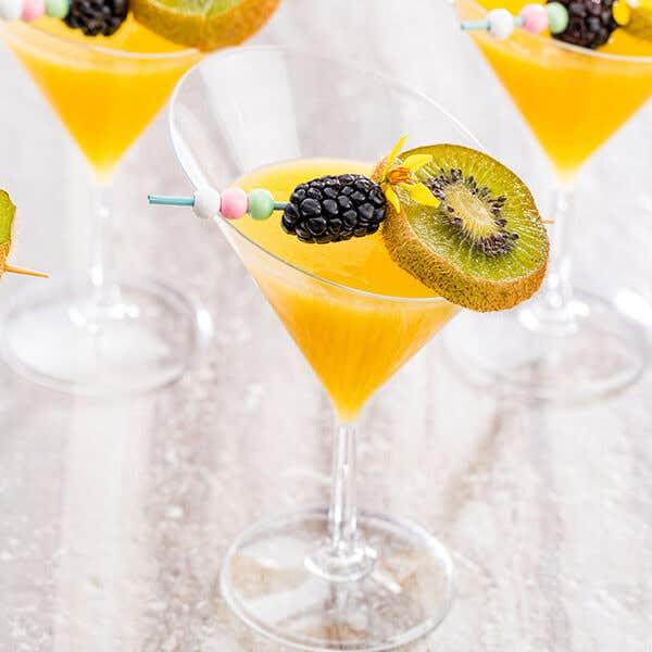 Disposable Martini Glasses