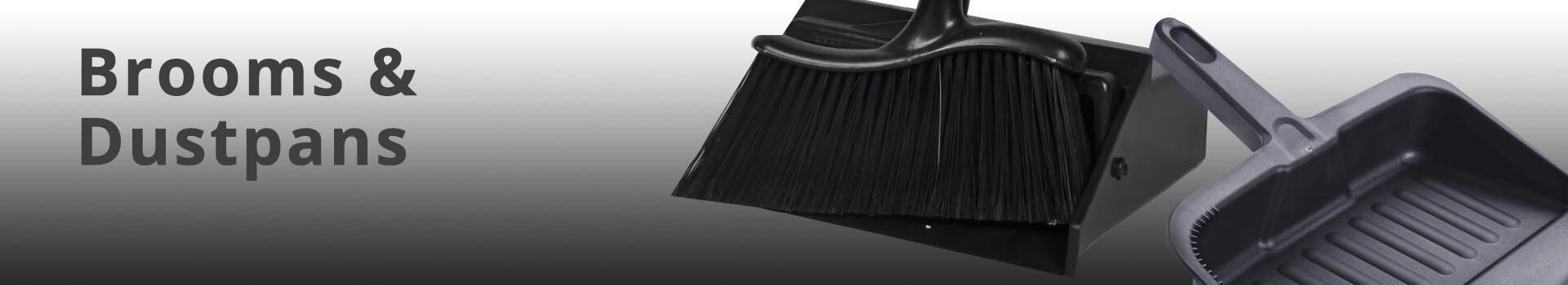 Rectangle Brooms & Dustpans