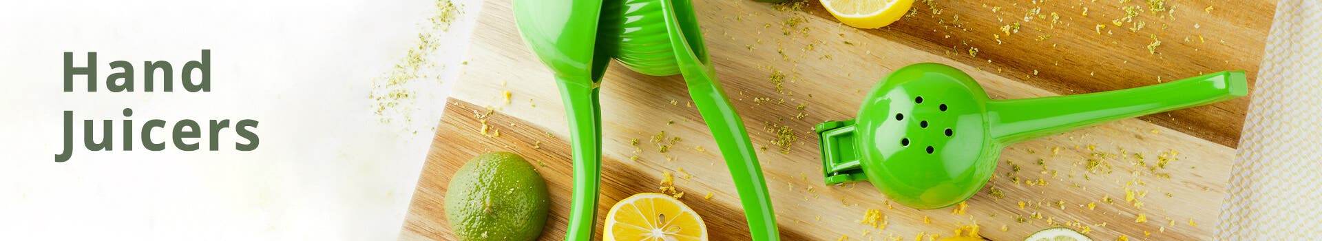 Lime Hand Juicers