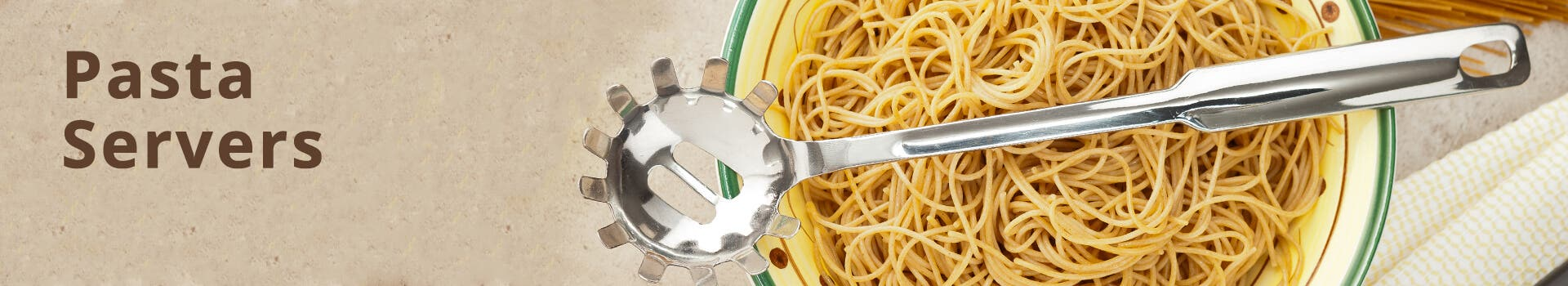 Stainless Steel Pasta Servers