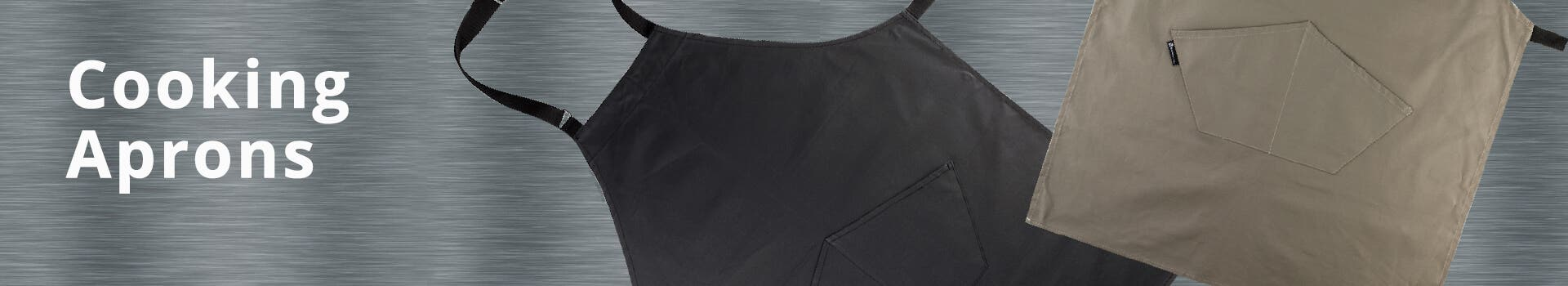 Black Cooking Aprons