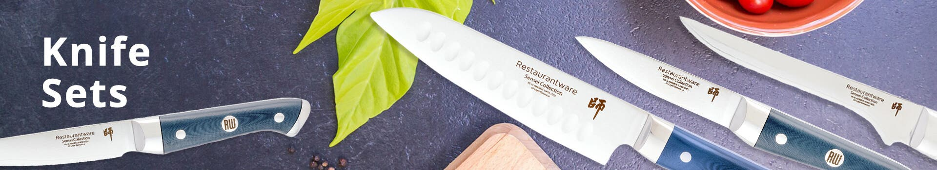 Sensei Blue Knife Sets