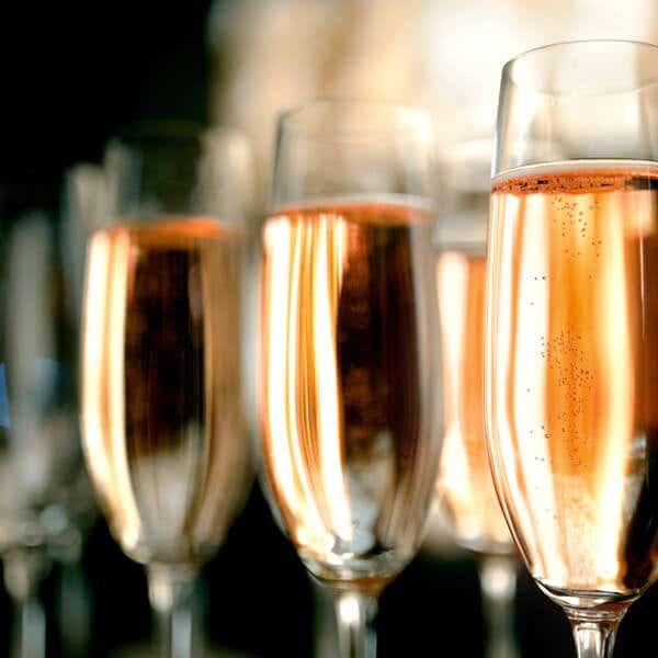 Reusable Champagne Flutes