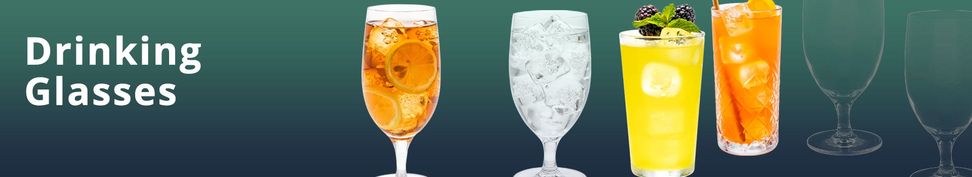 Glass Drinking Glasses