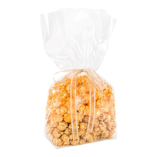 Bag Tek Clear Plastic Gusset Bag - Flat Bottom, Paper Insert, Heat Sealable - 5