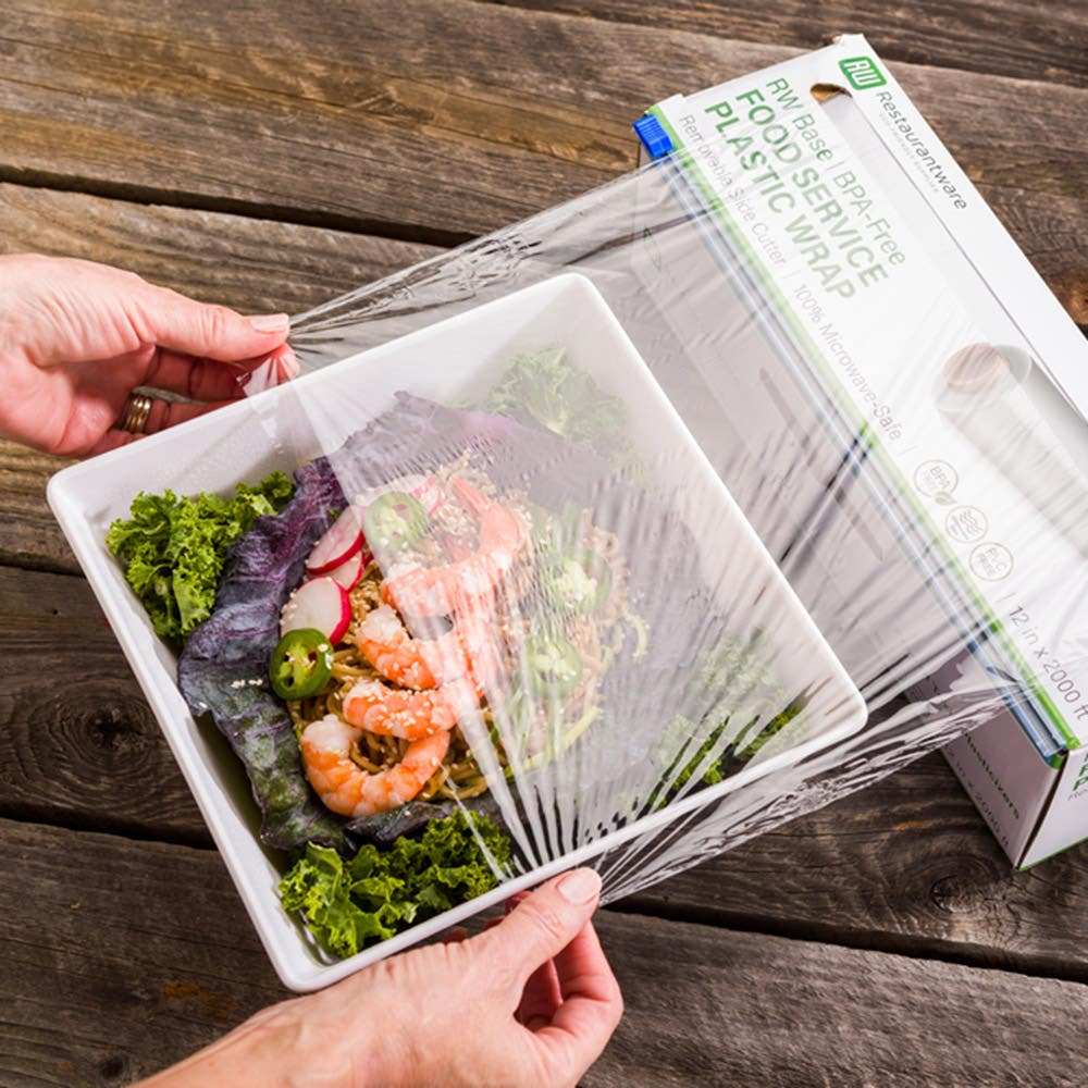 Clear Plastic Food Wrap