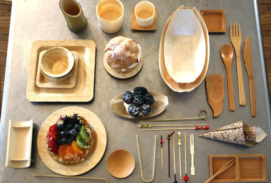 Disposable Bamboo Plates & The Environment Benefits When You Use Bamboo Tableware ...