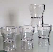shot glass plastic