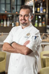Executive Chef Aaron Brooks at Four Seasons Hotel Miami & EDGE Steak and Bar