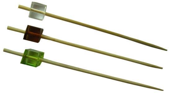 bamboo acrylic block skewers