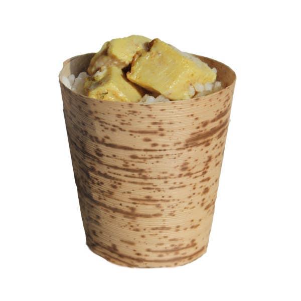 medium bamboo cups