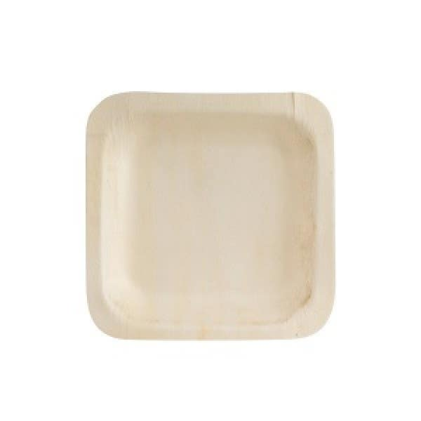 square wood plates