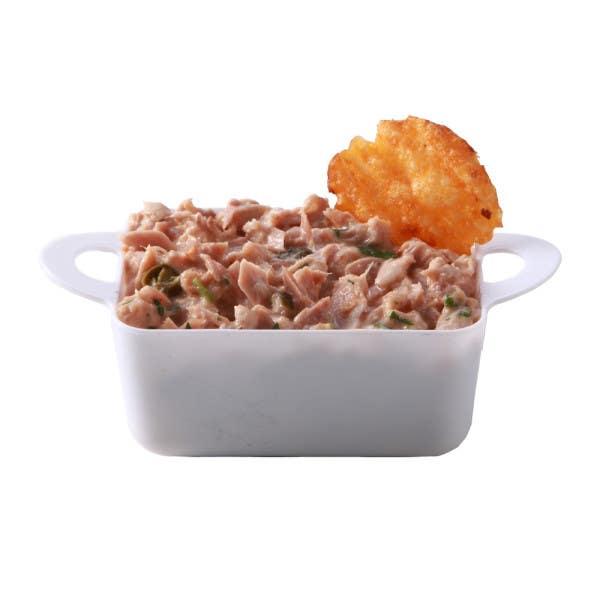 white plastic cocotte dish