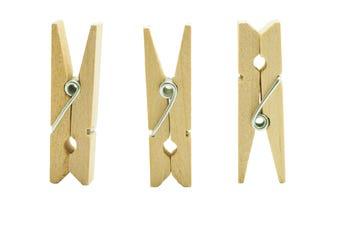mini wood clothespins