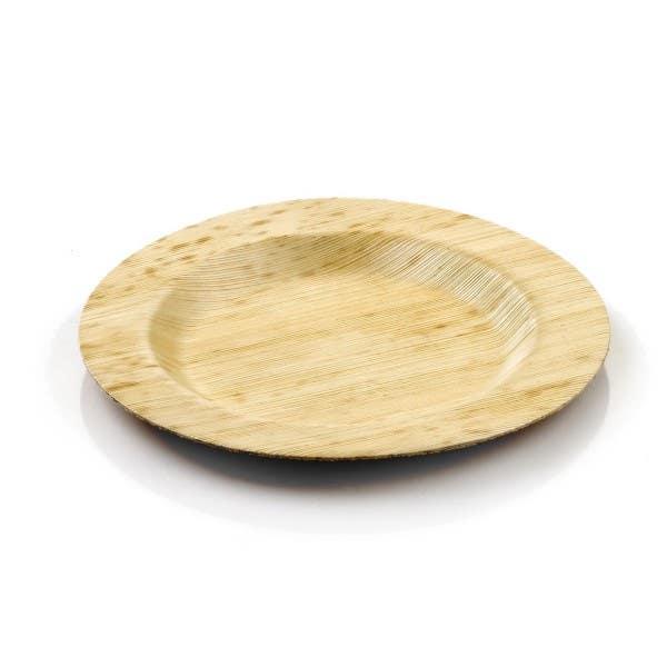 bamboo plates round