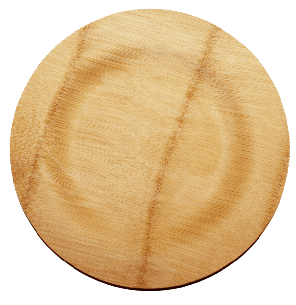 round veneer plates