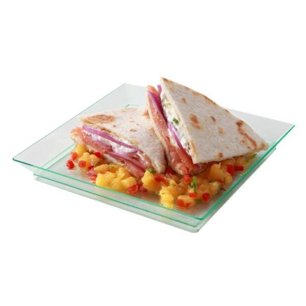 seagreen square plate