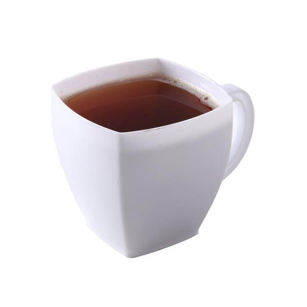 white cafe cups