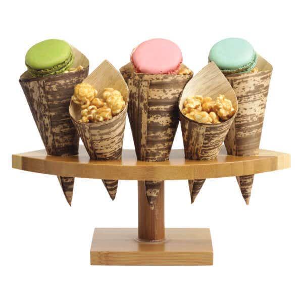 crescent cone stand