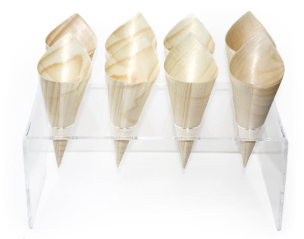acrylic cone stand