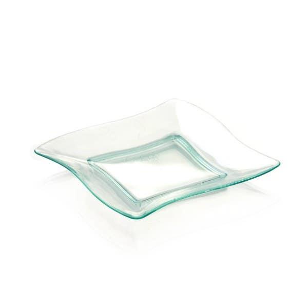 seagreen aqua plates