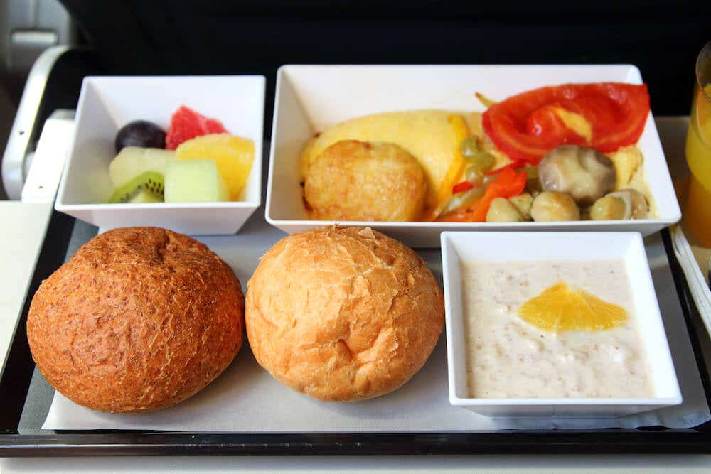 Airline catering and disposables