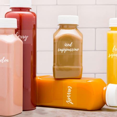 Juice Bottle Labels