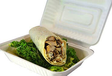 Bagasse Takeout Boxes